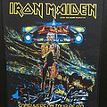 Iron Maiden - Patch - Iron Maiden - Somewhere on Tour - Back Patch 1986