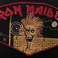 Iron Maiden - Official 1980 Back Patch (Very Rare)