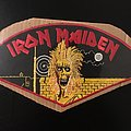 Iron Maiden - Official 1980 Back Patch (Still Sealed - Very Rare)