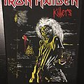 Iron Maiden - Killers - Vintage Back Patch 1981 (nr. 3)