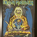 Iron Maiden - Patch - Iron Maiden - Seventh Son of a Seventh Son - Back Patch (nr. 6 - Clairvoyant...