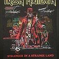 Iron Maiden - Patch - Iron Maiden - Stranger in a Strange Land Back Patch (Bootleg - Version 1)