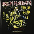 Iron Maiden - Piece of Mind - Vintage Back Patch 1983 (nr. 2)