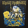 Iron Maiden - Patch - Iron Maiden - Live After Death - Bootleg Back Patch (version 1)