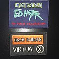 Iron Maiden - Virtual IX and Ed Hunter '99 Tour Patches