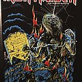 Iron Maiden - Patch - Iron Maiden - Live after Death - Back Patch 1985 (Blue Version - Upper...
