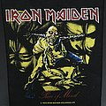 Iron Maiden - Piece of Mind - Vintage Back Patch 1983