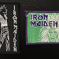 Iron Maiden - Patch - Iron Maiden - Running Free and Purple Border patches