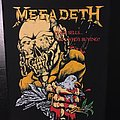 Megadeth - Patch - Megadeth - Peace Sells...But Who's Buying - Vintage Back Patch 1987