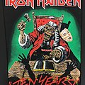 Iron Maiden - Patch - Iron Maiden – Ten Years! – Vintage Back Patch 1990 (Version 2)