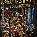 Iron Maiden - Somewhere in Time - Vintage Back Patch 1986 (nr. 1)
