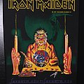 Iron Maiden - Patch - Iron Maiden - 7th Son of a 7th Son - Back Patch 1988 (Orange Version)