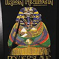 Iron Maiden - Powerslave - Vintage Back Patch 1984