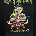 Iron Maiden - Patch - Iron Maiden - The Clairvoyant - Back Patch 1988 (Yellow Version)