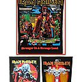 Wanted - Iron Maiden back patches