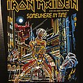 Iron Maiden - Somewhere in Time - Back Patch 1986
