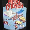 Metal Church - Patch - Metal Church - Fake Healer (Organs version) -  Back Patch 1990
