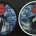 Dark Fortress - Patch - Dark Fortress - Profane Genocidal Creations (Red Glitter Logo)