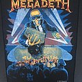 Megadeth - Patch - Megadeth - Berlin Wall - Back Patch 1990