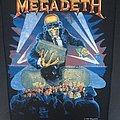 Megadeth - Berlin Wall - Back Patch 1990