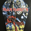 Iron Maiden - Patch - Iron Maiden - The Number of the Beast - Back Patch 2021 (Pull the Plug Patches)