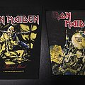 Iron Maiden - Patch - Iron Maiden - Piece of Mind (1983) and Live After Death Back Patches