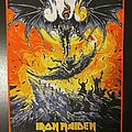 Iron Maiden - Patch - Iron Maiden - Flight of Icarus - Bootleg Back Patch