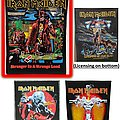 Iron Maiden - Patch - Wanted Maiden Back Patches