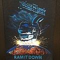 Judas Priest - Ram it Down - Back Patch (version 1)