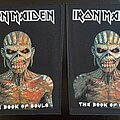 Iron Maiden - Patch - Iron Maiden - Book of Souls - Back Patch 2011 (Version Comparison)