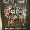Iron Maiden - Patch - Iron Maiden - A Matter of Life and Death - Back Patch 2006