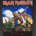 Iron Maiden - Patch - Iron Maiden - The Trooper 1983 (Version 2 - Colorful Version)