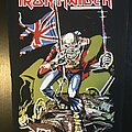 Iron Maiden - Patch - Iron Maiden - The Trooper - Transfer on Back Patch 1984