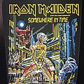 Iron Maiden - Patch - Iron Maiden - Somewhere in Time - Back Patch 1986 ('orange version')