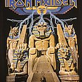 Iron Maiden - Patch - Iron Maiden - Powerslave - Back Patch (Version 3)