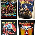 Iron Maiden - Patch - Wanted Iron Maiden Back Patches
