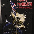 Iron Maiden - Patch - Iron Maiden - The Beast on the Road - Vintage Back Patch 1982 (2nd version, nr....