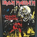 Iron Maiden - Patch - Iron Maiden - Number of the Beast - Vintage Back Patch 1982 (nr. 3)