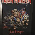 Iron Maiden - The Trooper - Vintage Back Patch 1983 (3rd version)