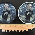 Dark Fortress - Patch - Dark Fortress - Profane Genocidal Creations patches (Silver glitter logo)