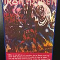 Iron Maiden - Number of the Beast - Vintage Back Patch (Version 2)