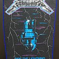 Metallica - Patch - Metallica - Ride the Lightning - Back Patch