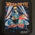 Megadeth - Patch - Megadeth - Berlin Wall - Printed vintage patch 1990