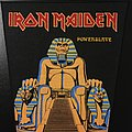 Iron Maiden - Powerslave - Vintage Back Patch (Version 2)