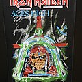 Iron Maiden - Patch - Iron Maiden - Aces High - Transfer on Back Patch 1984