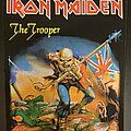Iron Maiden - Patch - Iron Maiden - The Trooper - Back Patch 2011