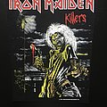 Iron Maiden - Patch - Iron Maiden - Killers - Back Patch 1981 (Version 7 - Foggy Light nr.4)