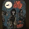 Slayer - Patch - Slayer - Live Undead - Back Patch - 1989