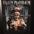Iron Maiden - Patch - Iron Maiden - X-factor - Back Patch 1995 (version 2)