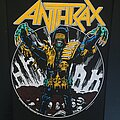 Anthrax - Patch - Anthrax - Judge Death Back Patch (1987)
